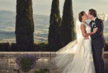 Wedding 'La Foce' Orcy Valley / Wedding in Tuscany , Italy , Hairstyle and Make-up