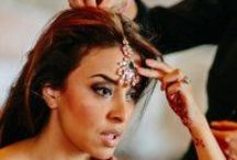 Indian Wedding in Tuscany / #Hairstyle #wedding #Italy #Tuscany #lookmaker #Etnic #Indian #makeup