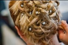 #Wedding #Hairstyle at #Hairstyleitaly.com / Our #Bride #Hairstyle, #natural #elegant #sophisticated