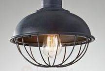 Industriella lampor / lamps with the industrial look