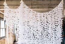 Ceilings. / Ceiling Decor Wedding Inspiration