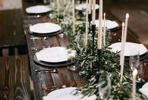 Winter. / Winter Wedding Inspiration