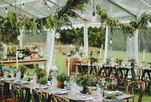 Marquees. / Marquees Wedding Inspiration