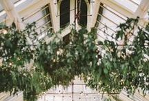 Greenhouse. / Greenhouse Wedding Inspiration