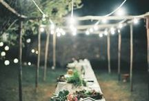 Garden Party. / Garden Wedding Inspiration