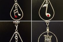 Music Jewelry from Flute Finery on Etsy / Music jewelry for every instrument!