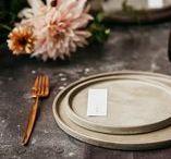 Treading Lightly. / Design inspiration for a natural elegant wedding.