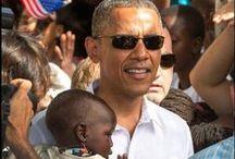 Visite officielle de Obama à Dakar  / Visite de Barack Obama et son épouse à Dakar en Juin 2013