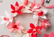 Pretty paper / Crafty paper ideas - folding, cutting and quilling