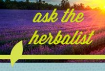 Ask The Herbalists / Blessed Herbs has a dedicated team of herbalists to answer any and all of your questions regarding menopause, cleansing, memory loss and much more.  / by Blessed Herbs