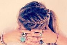 Hair and updoes. / Hair, how to style it and updoes.