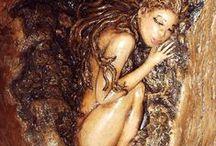 magico legno / arte e  artigianato ligneo / by maria pesenti