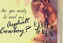 """Easier to Run / Easier to Run is a full-length standalone novel. Reunited """"friends-to-lovers"""" Contemporary New Adult Romance For more info, blitz & ARC sign ups visit: https://authorsilverrain.wordpress.com/easier-to-run/"""