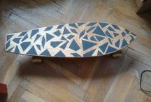 My DIY stuff / Inspired by skateboarding :)