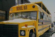Bus | Trucks / Food trucks y street food en autobuses vintage