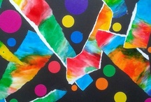 Arts plastiques (art in preschool) / by Nathalie L