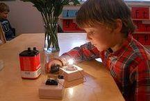 Sciences pour les petits : matières et objets / by Nathalie L