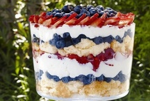 Red White & Blue Food
