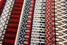 Weaving - rosepath, boundweave / by Vladka Cepakova