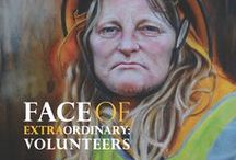 Extraordinary Faces / Every face tells a story: An art project by Stephanie Galloway Brown inspired by the heroic Black Saturday Firefighters Australia 2009. www.extraordinaryfaces.org