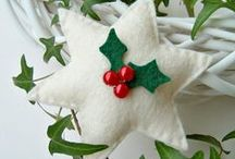 Fieltro Navidad -Felt Christmas / by Marta Algaba