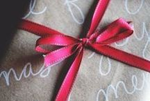 Christmas Gift Wrapping / Gift wrapping ideas for Christmas presents