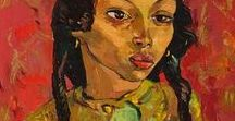 Irma Stern / Modernism; German Expressionism. Irma Stern was a major South African artist who achieved national and international recognition in her lifetime. 1894-1966.