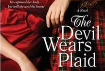 """Diana Gabaldon Read Alikes! / Did you love the """"Outlander"""" series? Scotland, history, epic stories, romance, time travel......How about some more books featuring a few of these elements? Check out these books available at Curtis Memorial Library!"""