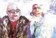 Ellen Rutschke - Malerei / Es gibt solche und solche.  Aber mehr solche als solche.