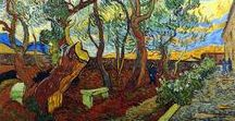 Vincent Van Gogh / Vincent Willem van Gogh was a Dutch Post-Impressionist painter who is among the most famous and influential figures in the history of Western art. 1853-1890