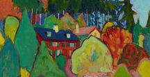 Gabriele Münter / Gabriele Münter was a German expressionist painter who was at the forefront of the Munich avant-garde in the early 20th century. 1877-1962