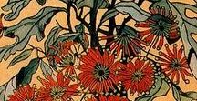 Margaret Preston / Margaret Rose Preston was an Australian painter and printmaker who is regarded as one of Australia's leading modernists of the early 20th century. 1875-1963