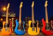 Cool Guitars / Fenders, Gibson, Taylors, Martins.... we love them all! / by Sam Ash Music