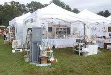 Vintage Bazaar September 2013 / Photos of our booth at the Vintage Bazaar on Pettengill Farm Sep. 21 and 22, 2013
