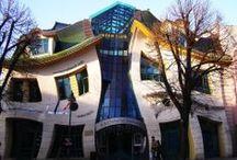 Strange modern buildings