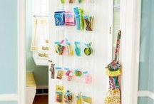 ΙΔΕΕΣ για να χρησιμοποιήσετε τις ΠΟΡΤΕΣ ως πρόσθετο ΑΠΟΘΗΚΕΥΤΙΚΟ χώρο / Storage behind doors