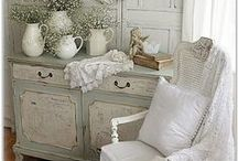 Shabby chic -ΚΑΘΙΣΤΙΚΟ- / Shabby chic living rooms