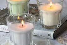 D I Y: ΚΕΡΙΑ ΣΕ ΔΟΧΕΙΑ / Soy candles making