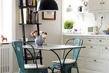 ΜIΚΡΟΙ ΧΩΡΟΙ: KOYZINA / Tables for small space kitchen