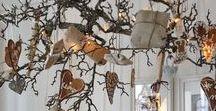 ΧΡΙΣΤΟΥΓΕΝΝΙΑΤΙΚΕΣ ΙΔΕΕΣ με ΚΟΡΜΟΥΣ-ΚΛΑΔΙΑ / Twig christmas ideas