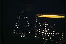 Χριστουγεννιάτικα ΦΑΝΑΡΑΚΙΑ-ΚΗΡΟΠΗΓΙΑ από ΚΟΝΣΕΡΒΟΚΟΥΤΙΑ / Christmas tin can lanters