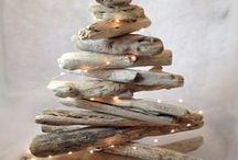 Χριστουγεννιάτικες ΙΔΕΕΣ-ΚΑΤΑΣΚΕΥΕΣ με ΘΑΛΑΣΣΟΞΥΛΑ / Christmas driftwood