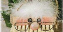 ΧΡΙΣΤΟΥΓΕΝΝΙΑΤΙΚΕΣ ΚΑΤΑΣΚΕΥΕΣ με την μορφή του ΑΓΙΟΥ ΒΑΣΙΛΗ / Santa Claus crafts