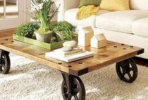 D I Y: ΤΡΑΠΕΖΑΚΙΑ ΣΑΛΟΝΙΟΥ / DIY Coffee Tables