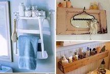 ΔΙΑΚΟΣΜΗΣΗ: ΜΠΑΝΙΟ / Bathroom decor ideas