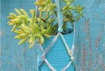 ΚΡΕΜΑΣΤΕΣ ΓΛΑΣΤΡΕΣ / Hanging flower pots