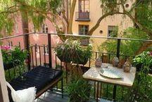 ΜΙΚΡΑ ΜΠΑΛΚΟΝΙΑ / Small balcony ideas