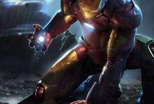 Iron man/iron man suits / by Jakey-poo