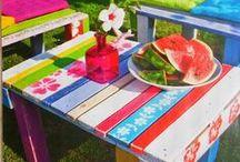 ΚΑΤΑΣΚΕΥΕΣ ME ΠΑΛΕΤΕΣ ΓΙΑ ΕΞΩΤΕΡΙΚΟΥΣ ΧΩΡΟΥΣ / Outdoor pallets ideas