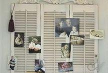 D I Y: ΠΑΛΙΑ ΠΑΝΤΖΟΥΡΙΑ / Old shutters decor-crafts